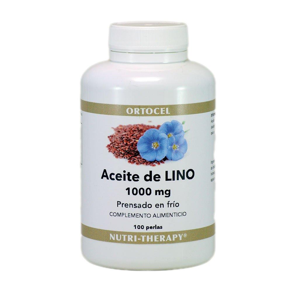 Aceite de semilla de lino 1000 mg