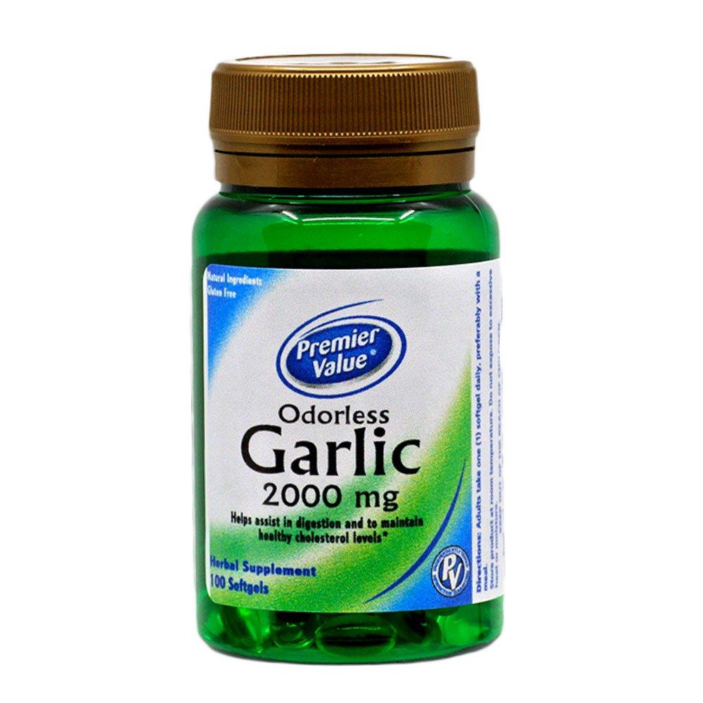 Ajo 2000 mg sin olor