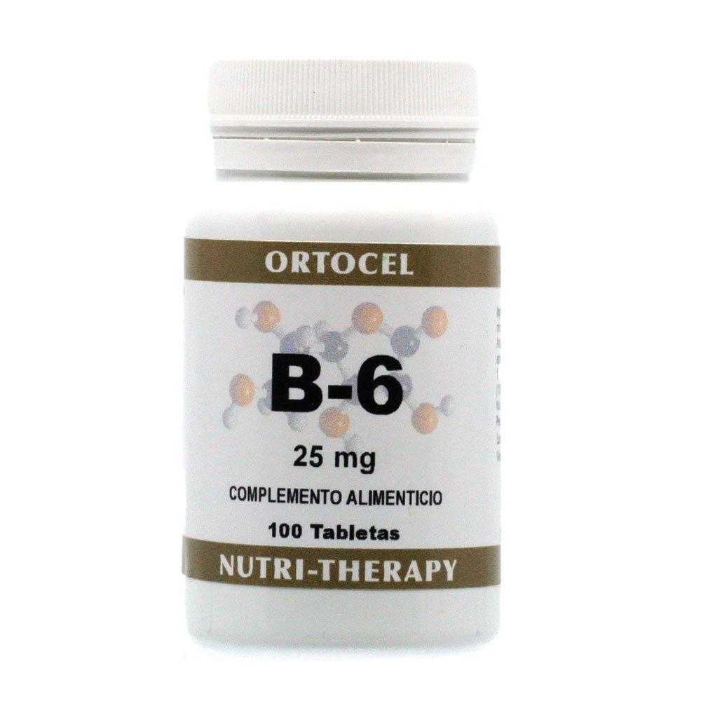 Vitamina B-6 25 mg